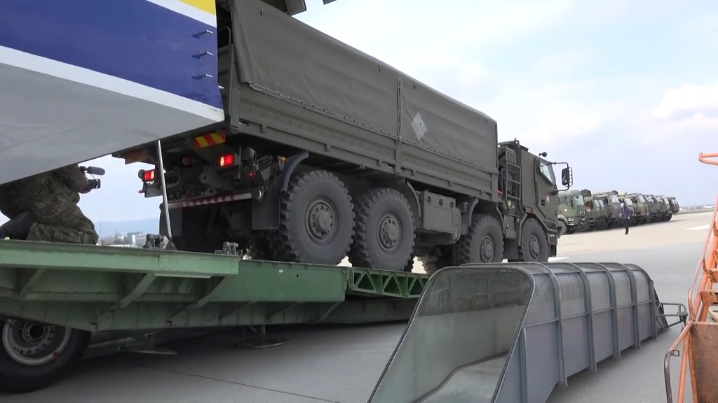 NATO Allied Airlift Delivers Medical Supplies to Slovakia