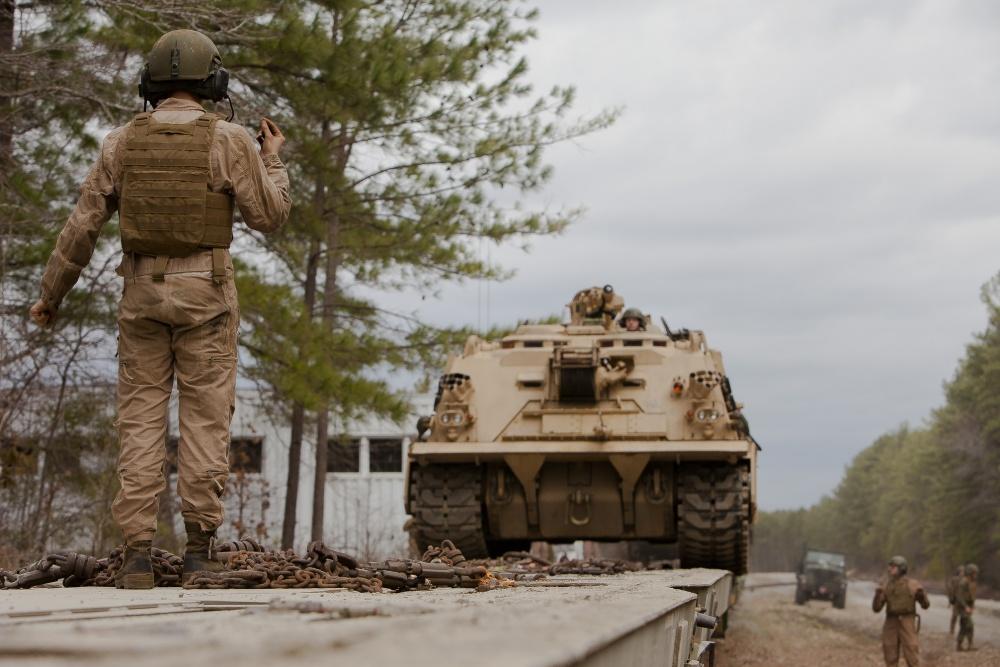U.S. Marine Corps M88 A2 Hercules Recovery Vehicle