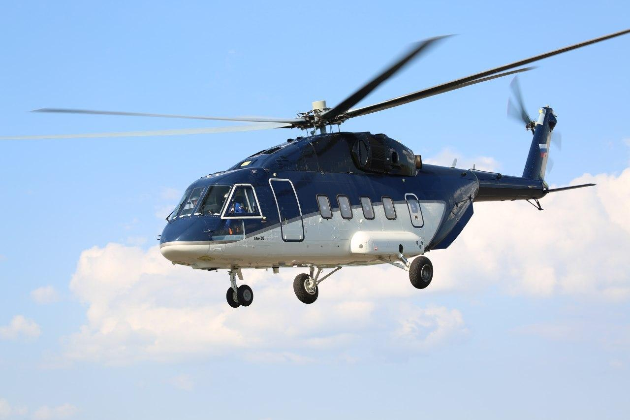 Rostec Delivers the First Serial Produced Mi-38 Helicopter to a Client