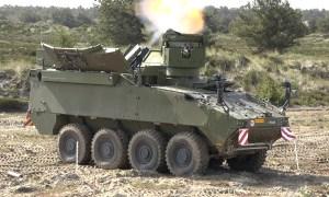 Royal Danish Army PIRANHA 5 Mortar Carrier