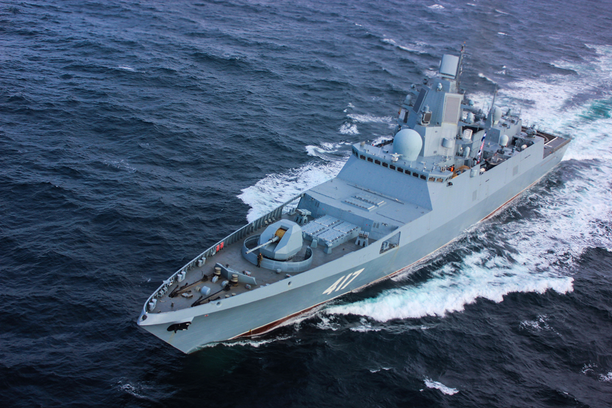 Russian Navy Frigate Admiral Gorshkov Tested Zircon Hypersonic Missile