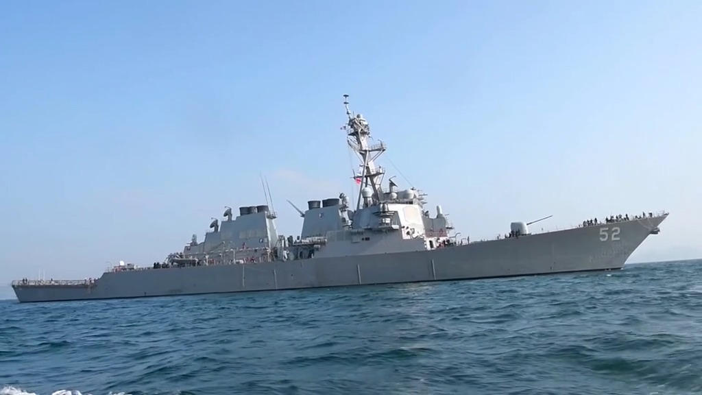 Arleigh Burke-class guided-missile destroyer USS Barry (DDG 52)