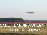 Yokota Performs First-Ever C-130J Assault Landing on Foxtrot Taxiway