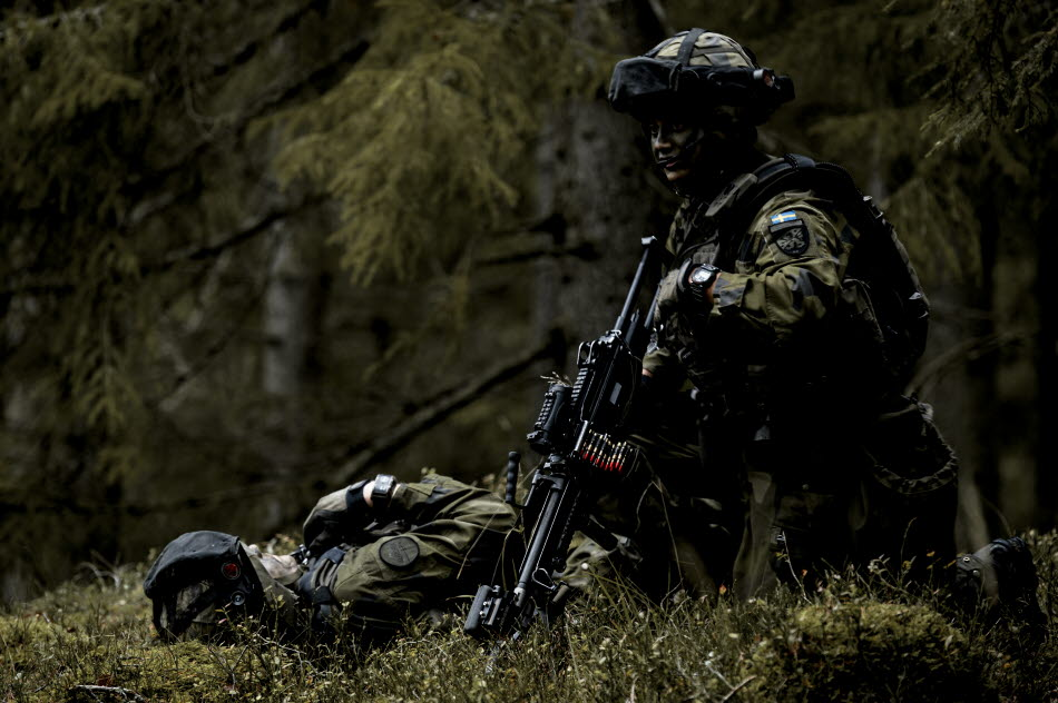 Swedish Armed Forces Exercise Aurora 17