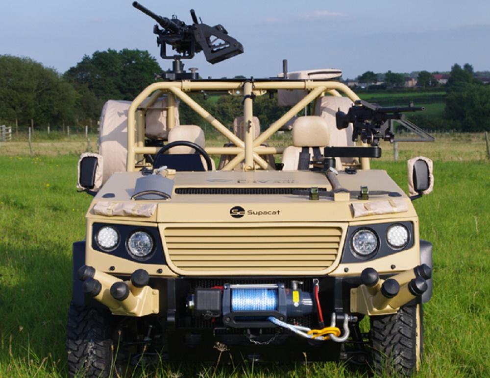 Supacat LRV Light Role Vehicle