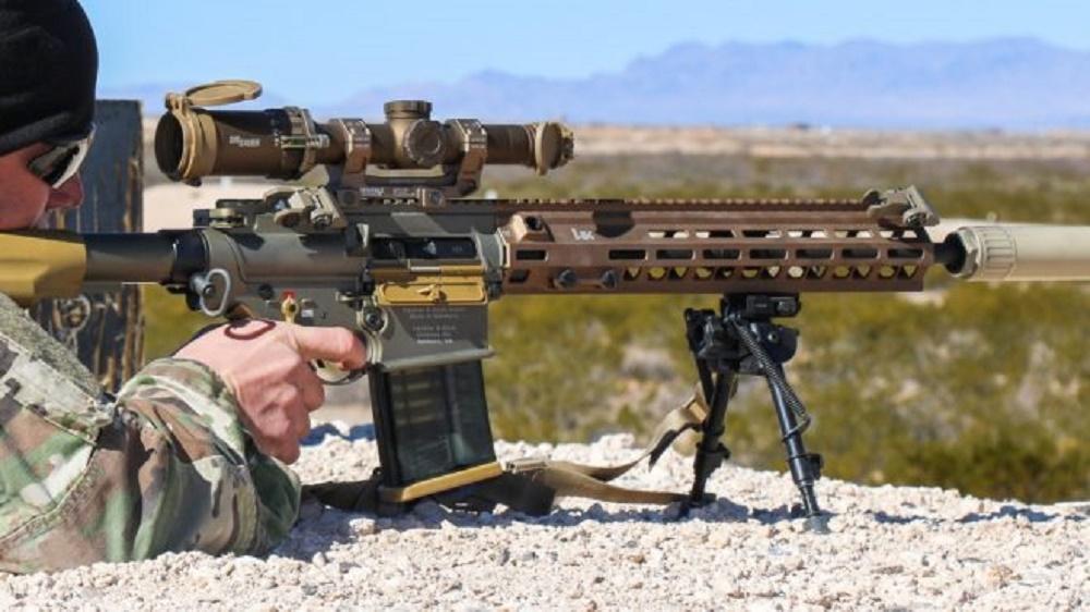 US Army M110A1 Squad Designated Marksman Rifle