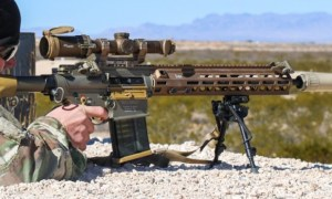US Army M110A1 Squad Designated Marksman Rifle