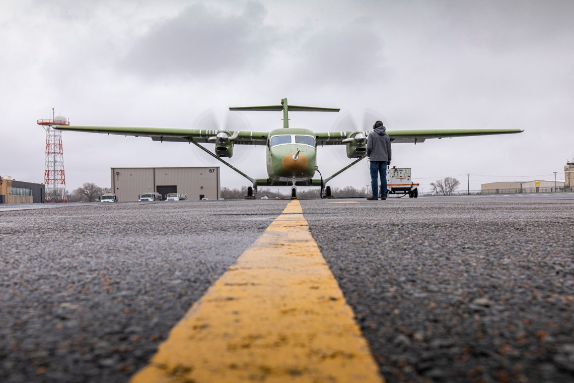 Cessna Skycourier Takes Next Step Toward First Flight with Ground Engine Tests