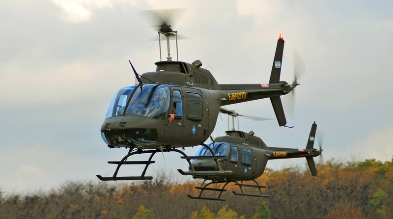 Argentine Army Receives More Agusta-Bell AB 206 JetRanger Helicopters