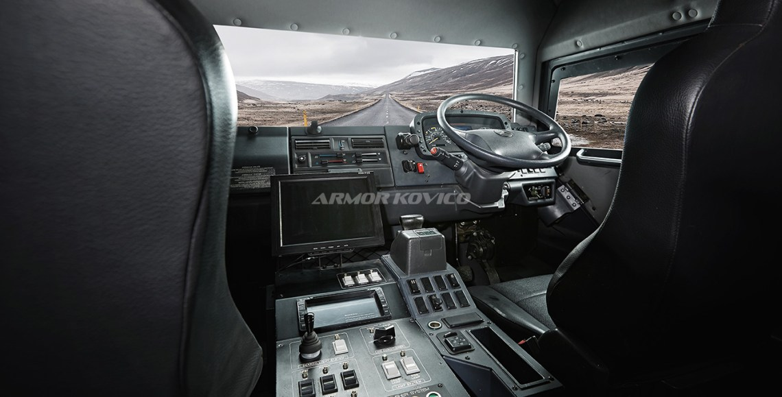 Armor Kovico Black Shark Armored Vehicle