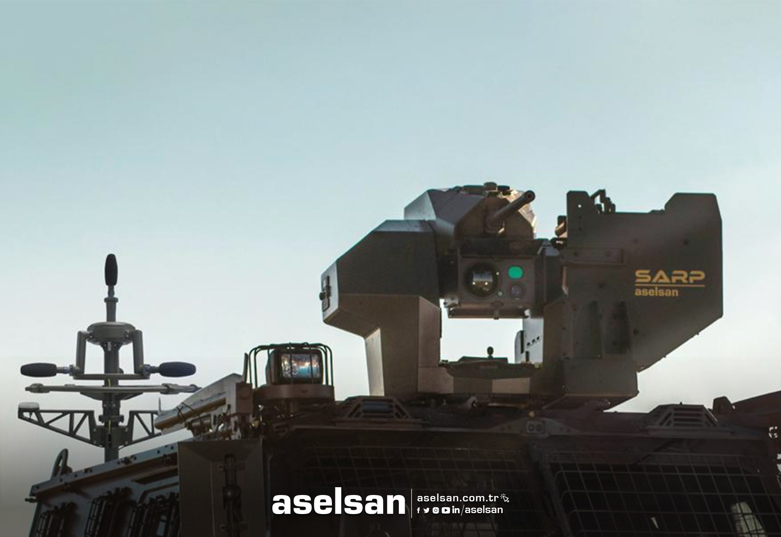 Aselsan Receives Contract for Stabilized Weapon Stations (RCWS) From NATO Member Nation