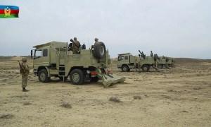 Azerbaijani Army Cardom Hatchet Recoil Mortar System