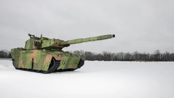 BAE Systems Mobile Protected Firepower (M8 Armored Gun System)