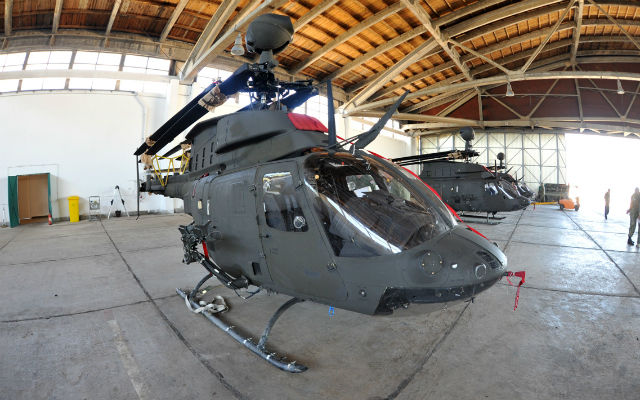 Croatian Air Force Kiowa Warrior Helicopters Receive Hellfire Missiles