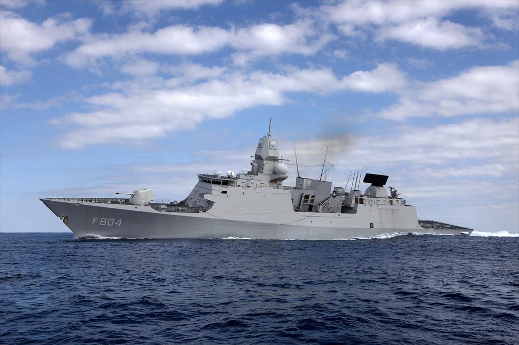 Royal Netherlands Navy De Zeven Provinciën-class frigate HNLMS De Ruyter (F804)[/caption]