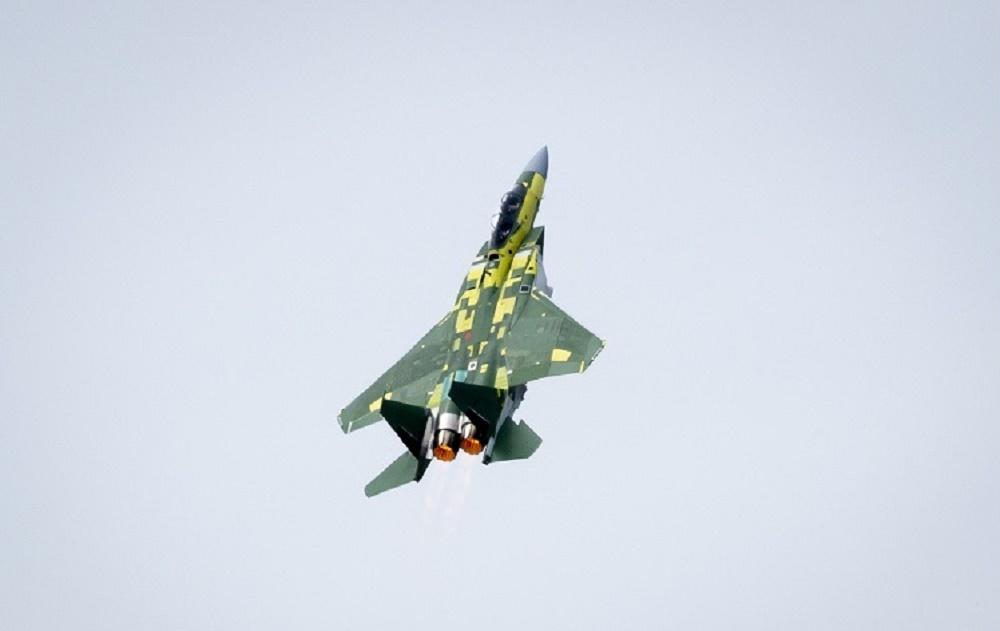 First F-15QA for Qatar Emiri Air Force Makes First Flight