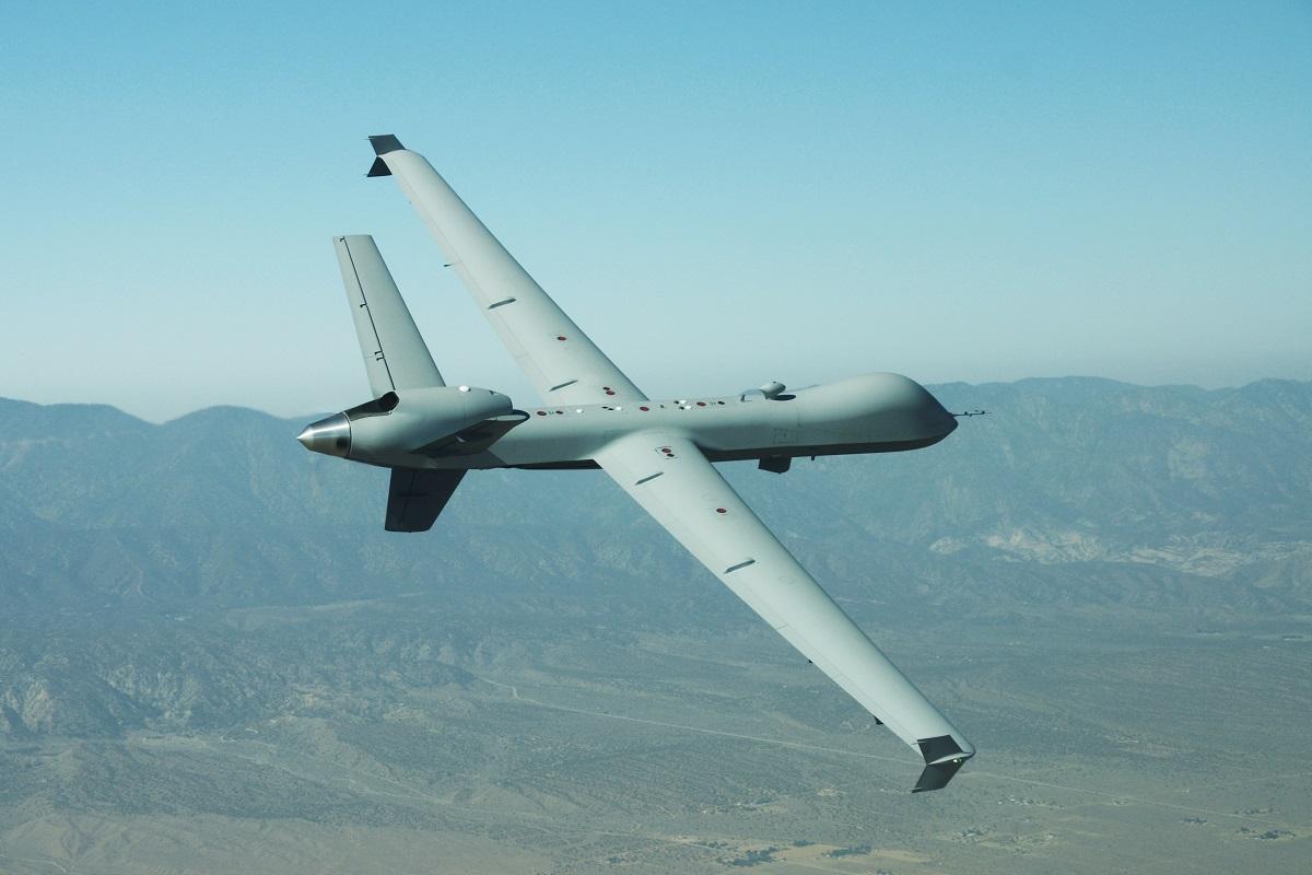 GA-ASI Ferries New MQ-9 to Holloman Air Force Base