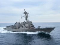US Navy Arleigh Burke-class guided missile destroyer USS Delbert D. Black (DDG 119)