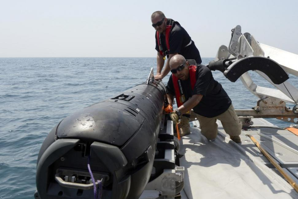 MK18 Kingfish Unmanned Underwater Vehicle