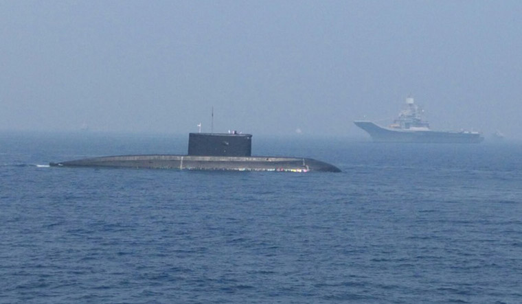 India set to deliver INS Sindhuvir Submarine to Myanmar Navy
