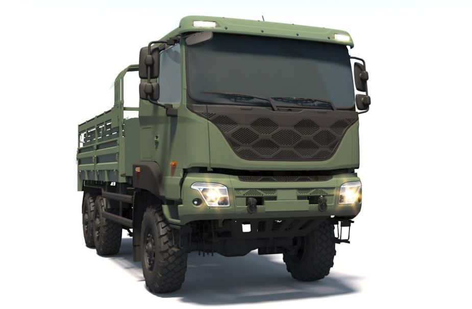 Kia Motors  5 ton Medium Size Standard Vehicle non-bullet proof version