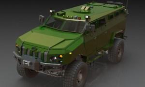 Kraz Kamrat Armored Personnel Carrier