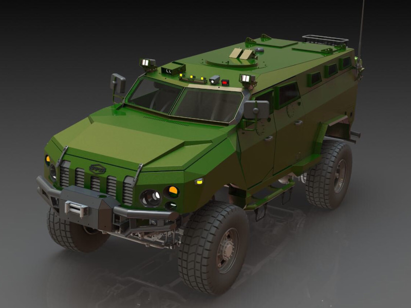 Kraz Kamrat  Armored Personnel Carrier