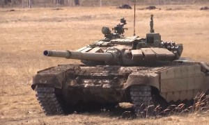 Newly Upgraded T-72B3M Main Battle Tank in Action