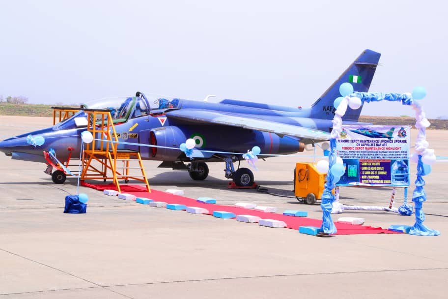 Nigerian Air Force Upgrades Alpha Jet Avionics