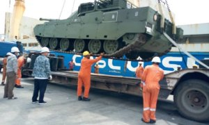 Nigerian Army Takes Delivery of China's New Main Battle Tanks and Armored Vehicles