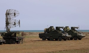 Russian Black Sea Fleet Anti Defense Conducted Missile Firing in Crimea