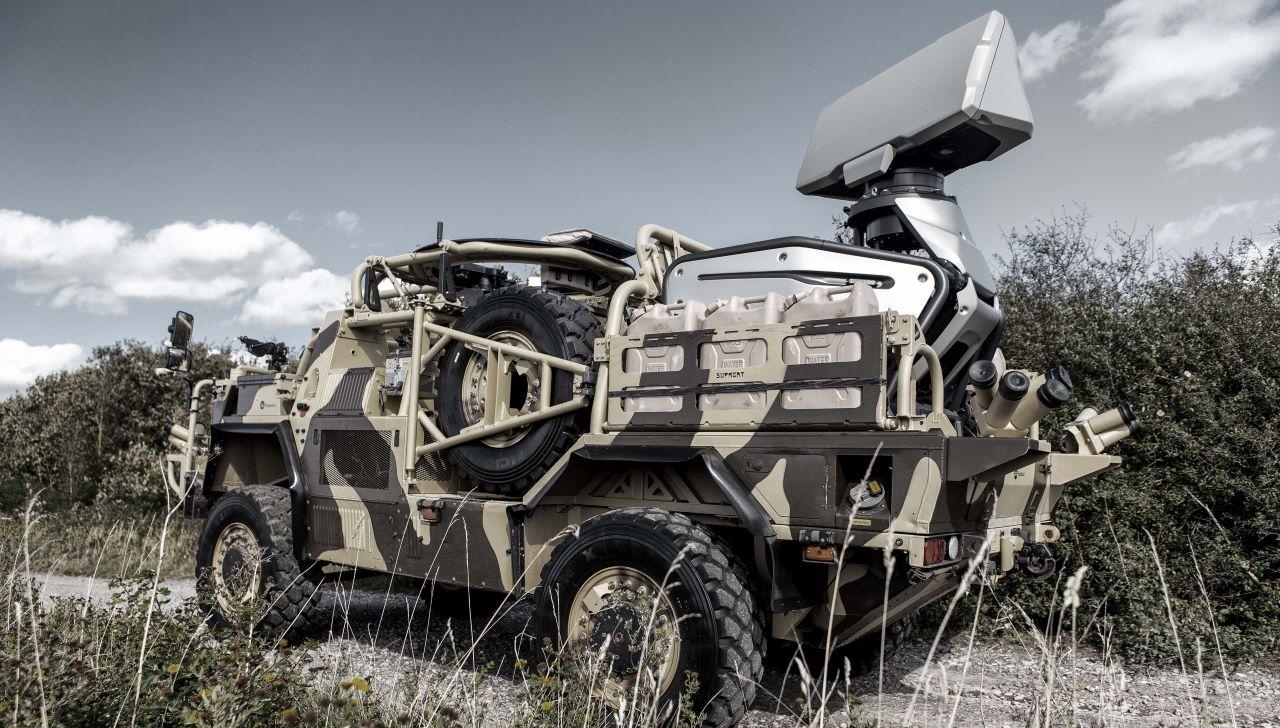Saab Giraffe 1X Lightweight Multi-Mission Surveillance Radar
