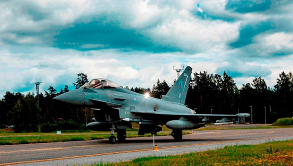 Spain, France, UK Take Up NATO's Baltic Air-Policing Mission