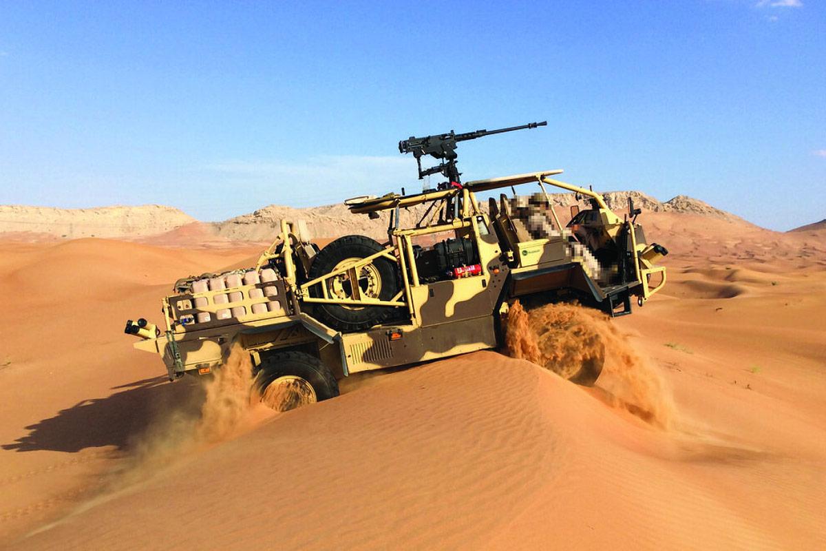 Supacat High Mobility Transporter (HMT) Extenda Mk2
