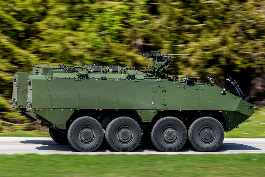 Swiss Army Mörser 16 120mm self-propelled mortar system