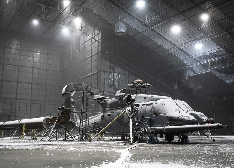 """US Air Force Tests HH-60W """"Jolly Green II"""" Combat Rescue Helicopter at Florida Climatic Lab"""