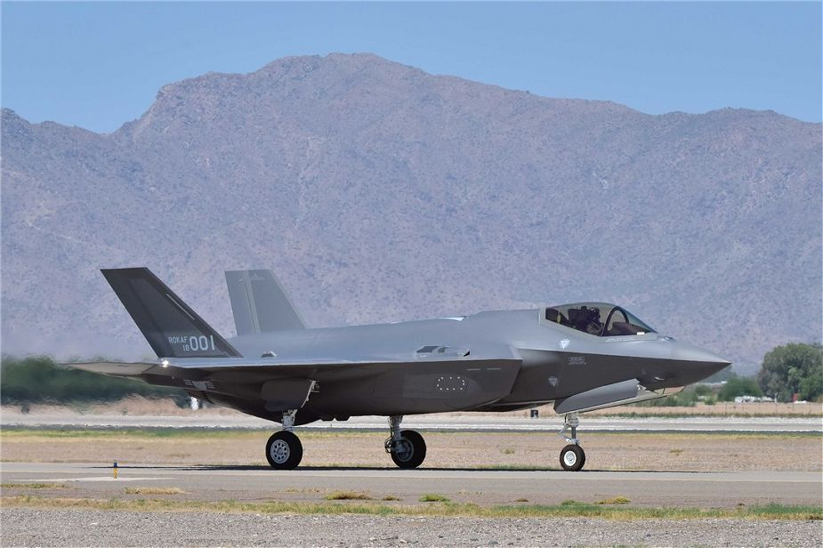 US Approves $675 Million F-35A Maintenance Services to South Korea