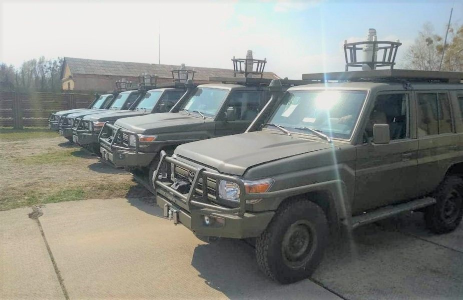 US Delivered Toyota Land Cruisers to Ukrainian Armed Forces