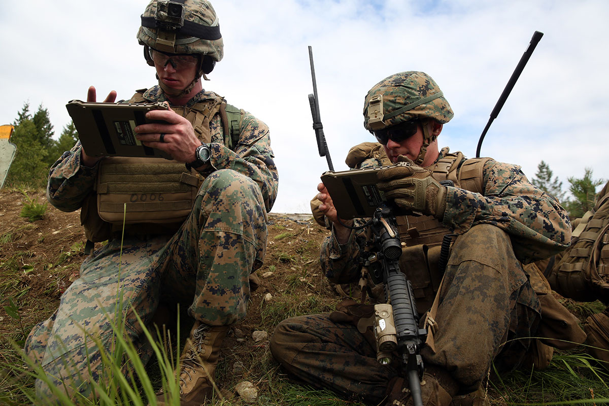 Marines employ MCH during platoon attacks in Norway