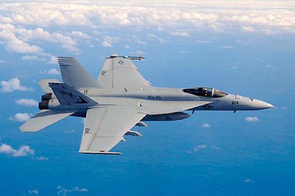 A Block II Super Hornet in flight; the aircraft has been commonly referred to as the U.S. Navy's multi-mission capable workhorse for the past 15 years. (U.S. Navy Photo)