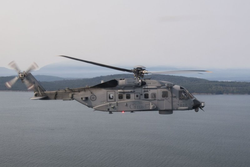 A Sikorsky CH-148 Cyclone similar to the one that crashed in the Adriatic Sea between Italy and Greece. The CH-148, a navalized version of the S-92 commercial helicopter, has had a long and troubled introduction period with the Canadian Navy.