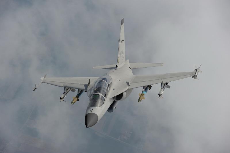 Leonardo's M-346FA light combat aircraft