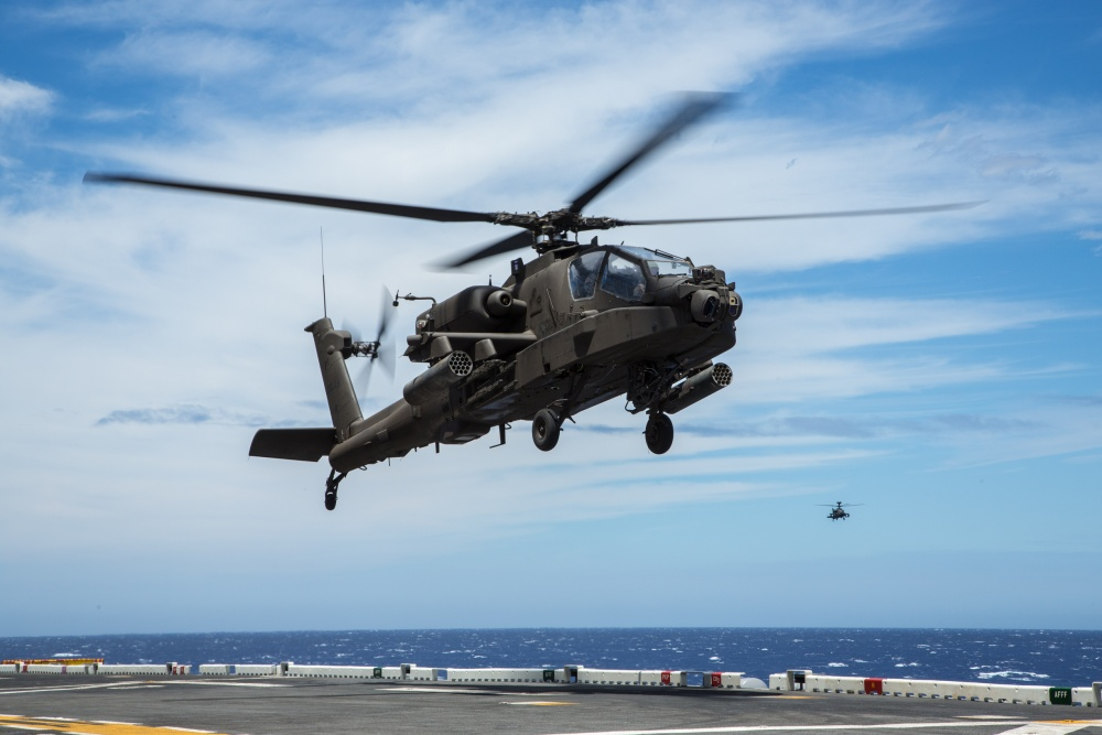 Boeing AH-64E Apache Guardian Attack Helicopter