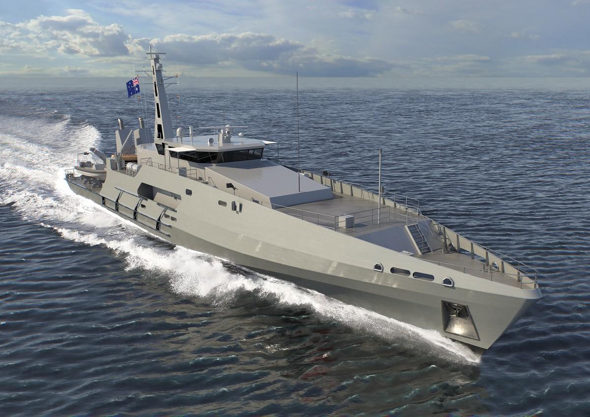 Austal Australia Cape Class Patrol Boats