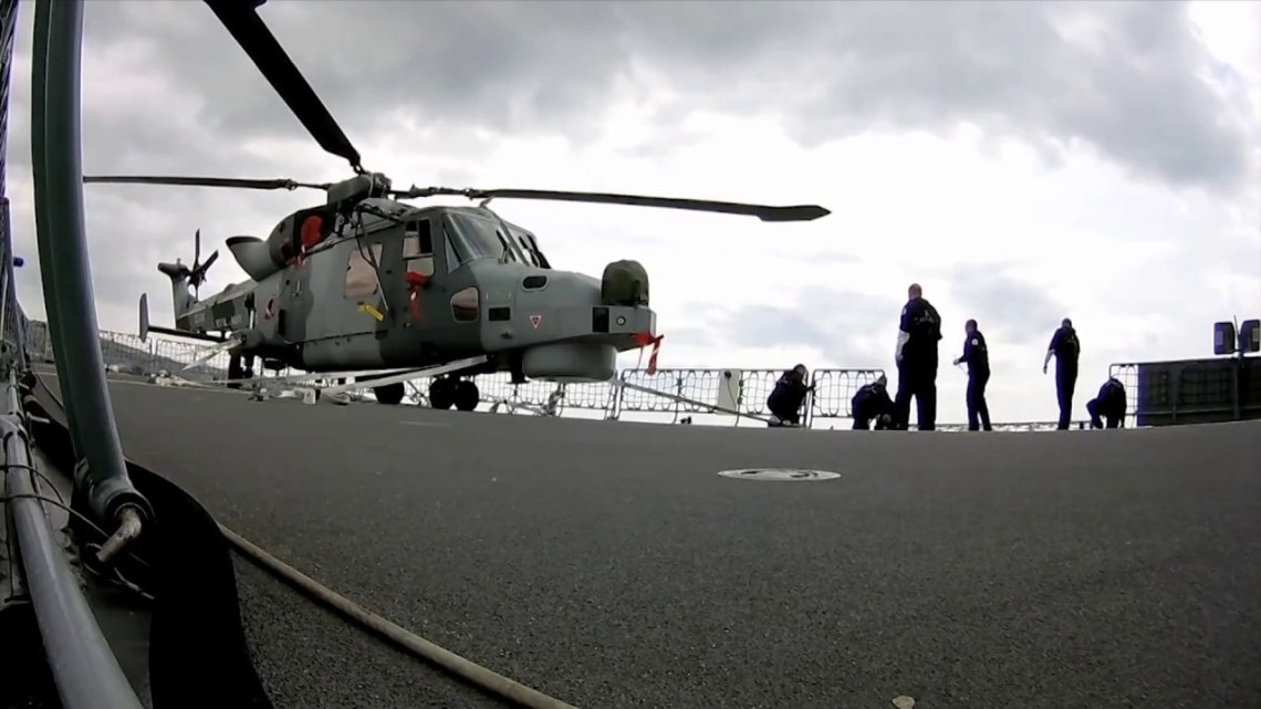 AW159 Helicopter Force Protection Capability