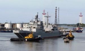 Baltic Fleet Naval Aviation Tests Peter Morgunov Amphibious Ship