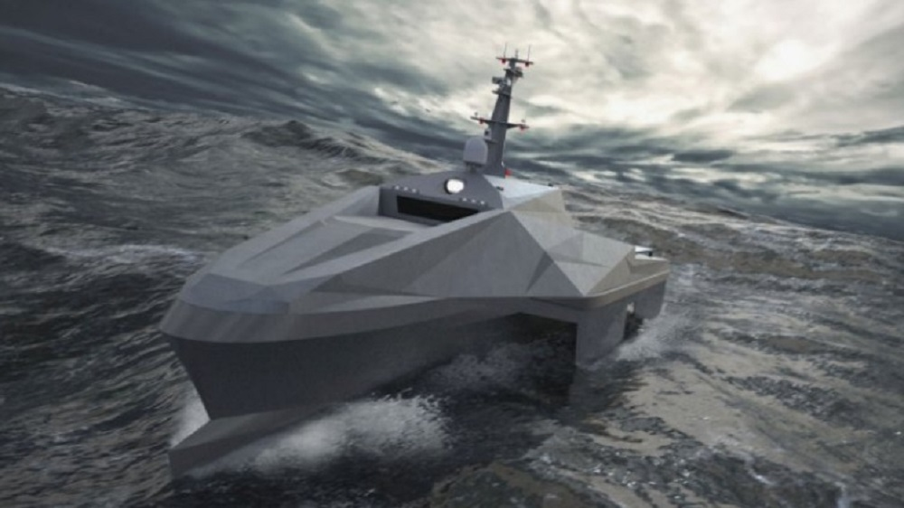 BMT Launches Pentamaran Autonomous Multi-hull Applications