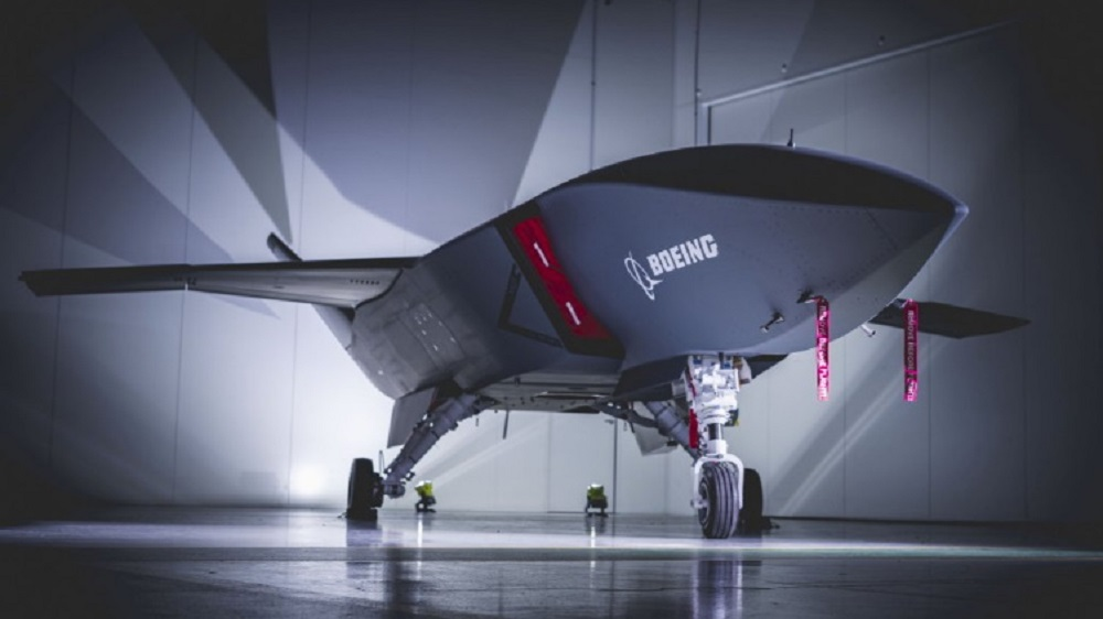 Boeing Rolls Out First Loyal Wingman Unmanned Aircraft