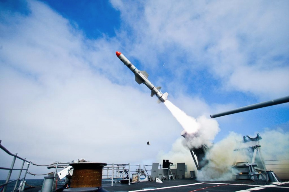Boeing Wins $2.6 Billion for SLAM-ER and Harpoon Missile Production