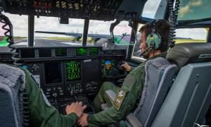 French Air Force Lockheed Martin C-130J Super Hercules transport aircrafts